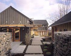 modern + barn done perfectly!