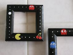 pacman picture frames