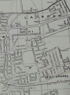 Map of Laindon 1945.