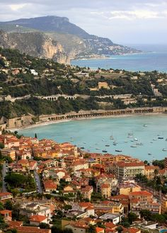 A nice alternative to Cannes, Villefranche-sur-Mer, Cote d'Azur, France Places Around The World, Oh The Places You'll Go, Great Places, Places To Travel, Beautiful Places, Places To Visit, Around The Worlds, Beautiful Boys, Belle France