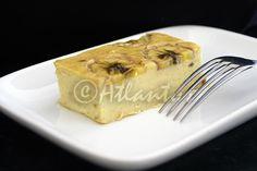 Ingredientes   250gr. queijo quark 0%   4 ovos   4 bananas maduras   1/2 chávena de farinha Maizena   1 colher de sopa de açúcar ba...