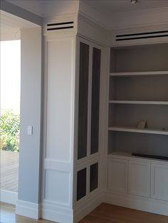 This French villa Georgian inspired residence in Bellevue Hill used the SK668 profile for the skirting board and the SK187 as an architrave. Intrim also supplied custom made mouldings manufactured to the specifications of builder.