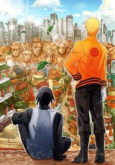 Uzumaki Naruto & Uchiha Sasuke Best Friends & Rivals