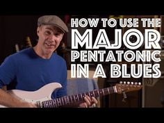 Are you guilty of hitting this awful note? Learn how to use the Major Pentatonic In A Blues! Pentatonic Scale Guitar, Guitar Online, Guitar Notes, Guitar Scales, Blues Rock, Music Theory, Me Me Me Song, Guitar Lessons, Playing Guitar