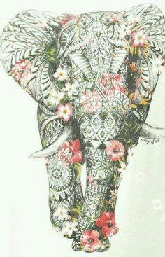ideas for tattoo elephant color zentangle Elefante Tattoo, Elefante Hindu, Geniale Tattoos, Bild Tattoos, Elephant Love, Elephant Design, Tribal Elephant Drawing, Mandala Elephant Tattoo, Elephant Thigh Tattoo