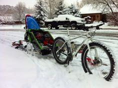 Fat Bike Slednecking. Adventure awaits at www.elevationresort.com