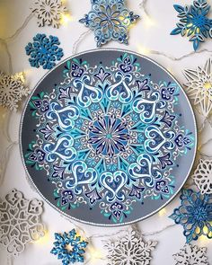 Алина Нуреева Mandala Doodle, Mandala Dots, Mandala Drawing, Mandala Painting, Mandala Design, Dot Art Painting, Ceramic Painting, Stone Painting, Magic Design
