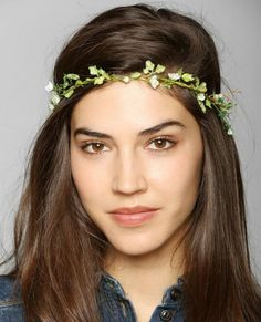 No Veil, No Problem! Check Out Our Favorite Headpiece Alternatives to Wear at Your Wedding | InStyle.com Delicate Flower Crown Headwrap, $18; UrbanOutfitters.com