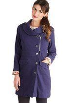 Dory the Explorer Coat   Mod Retro Vintage Coats   ModCloth.com-  shop Curve & Plus Size