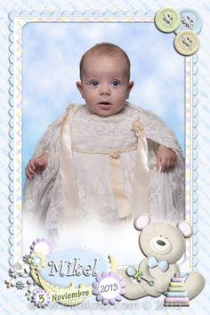 Recordatorios de bautizo realizados por Ekia Estudios Fotográficos en Vitoria-Gasteiz. www.ekiafoto.com © Todos los derechos reservados