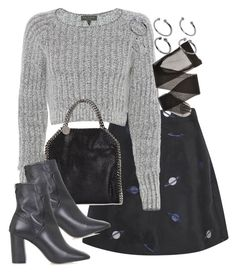 """""""Untitled #1745"""" by eleanorwearsthat ❤ liked on Polyvore featuring Lulu and Co., rag & bone, STELLA McCARTNEY, Topshop and ASOS"""