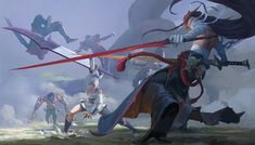 League Of Legends Comic, League Of Legends Characters, Dnd Characters, Action Pose Reference, Action Poses, Legend Images, Illustration Art Drawing, Fantasy Setting, Inspirational Artwork