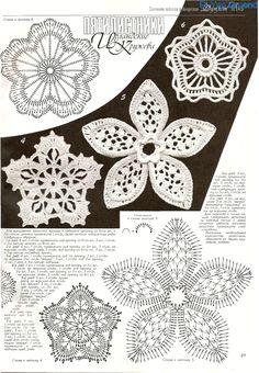 square crochet lace mat with Irish crochet motif Appliques Au Crochet, Crochet Motifs, Freeform Crochet, Crochet Diagram, Crochet Chart, Thread Crochet, Crochet Stitches, Irish Crochet Patterns, Lace Patterns