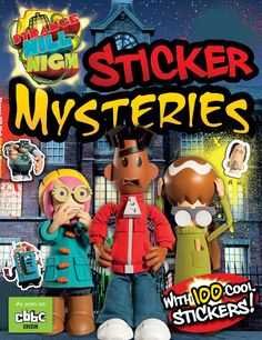 Sticker Mysteries combines the well-loved sticker activity format with the fresh visuals of Strange Hill High. Kids can join Mitchell, Becky and Templeton as they solve simple mysteries like mazes, spot the difference and counting games. Two spreads of stickers provide plenty of scope for having fun with the book and decorating your walls, desk or lunchbox as well. RRP £4.99