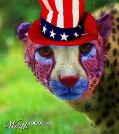 gepard clown