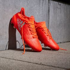 adidas X 16.1 FG/AG - Solar Red/Silver Metallic/Hi-Res Red