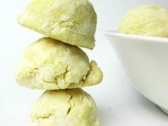 No Spread Lemon Sugar Cookies recipe