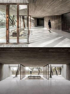 A Private Buddhist Spiritual Retreat in Tangshan, China - The Cool Hunter Contemporary Cottage, Contemporary Bedroom, Contemporary Furniture, Contemporary Design, Contemporary Chandelier, Contemporary Office, Contemporary Landscape, Architecture Design, China Architecture