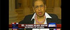 Eleanor Holmes Norton: 'You Don't Have a Right to Know' What's Going On At the White House