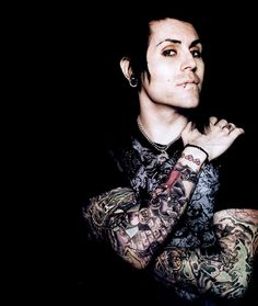 Davey Havok of AFI. I used to have the biggest crush on him.