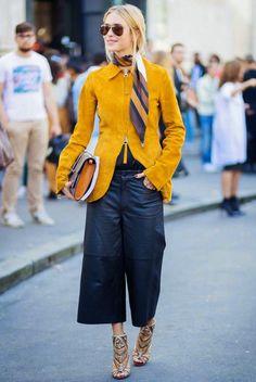 Vamos a hablar de Moda: Pantalón Culotte: El nuevo infaltable:
