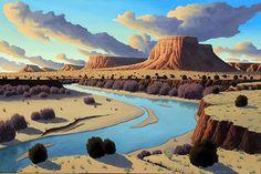 Fantasy Landscape, Landscape Art, Landscape Paintings, Writing Photos, Weather Vanes, Tree Stumps, Blue Rain, Landscape Quilts, Southwest Art