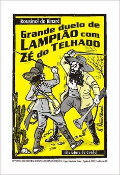 Cordel de Rouxinol do Rinaré com capa de Klévisson Viana