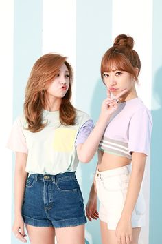 Eunji and Namjoo - Apink Namjoo Apink, Eunji Apink, Kpop Girl Groups, Korean Girl Groups, Kpop Girls, J Pop, Asian Woman, Asian Girl, Korean Best Friends