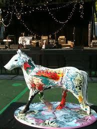 Tarta con forma de caballo. Charm City Cakes