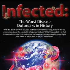 With the death toll from an Ebola outbreak in West Africa rising, many in the U.S. are worried about the possibility of a  pandemic here. While the possibility of that is extremely remote, it brings to mind outbreaks and pandemics of the past.  Let's take a look at a few, both in the U.S. and abroad.