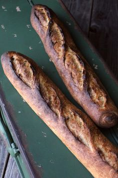 Straight Method Baguette - a good starter baguette to practice on | The Fresh Loaf