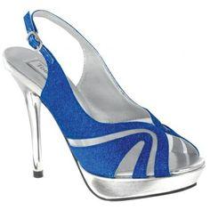 Shop for designer dress shoes at Simply Dresses. Sexy high heels for prom, formal designer dress shoes, bridal shoes and high heels for bridesmaids. Blue Bridal Shoes, Royal Blue Shoes, Bridal Wedding Shoes, High Heels For Prom, Prom Heels, Satin Shoes, Up Shoes, Shoes Style, Dyeable Shoes