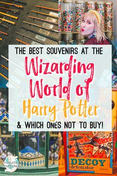 The Best Souvenirs at the Wizarding World of Harry Potter and Where to Find Them!   The Creative Adventurer
