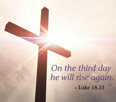 On the third day...