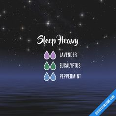 Sleep Heavy - Essential Oil Diffuser Blend