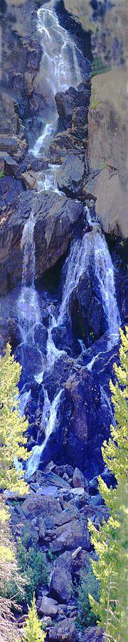 ✮ Fish Creek Falls, #Colorado by David Kehrli
