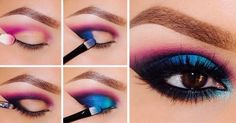 25 Tutorials with Amazing Brown Eyeshadow Looks; Highlight that brown look! Brown Eyeshadow Looks, Silver Eyeshadow, Liquid Eyeshadow, Cream Eyeshadow, Makeup For Brown Eyes, Eyeshadow Makeup, Colorful Eyeshadow, Colorful Makeup, Bold Eyeliner