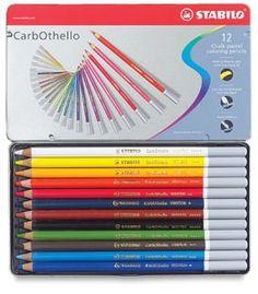 CarbOthello Pastel Pencils 12 set/Stabilo