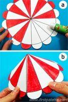 Como hacer la carpa de un circo con papel for Como hacer un criadero de carpas