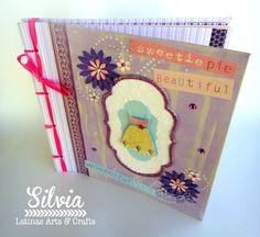 Silvia Scrap: Blog Hop: Baby Shower para Yara