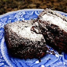 Triple Chocolate Brownies - This recipe takes brownies to a whole new level! These brownies consist of 3 layers of chocolate - dark cocoa powder, regular cocoa powder, and mini chocolate chips. So good and just as easy as using a box mix!