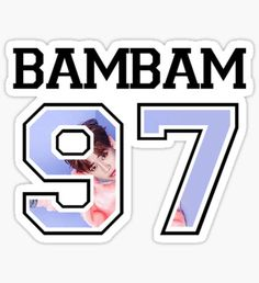 GOT7 - BamBam 97 Sticker