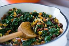 Swiss Chard with Currants and Pine Nuts Recipe - NYT Cooking Pine Nut Recipes, Veggie Recipes, Salad Recipes, Vegetarian Recipes, Cooking Recipes, Healthy Recipes, Sauteed Swiss Chard, Collard Greens Recipe, Swiss Chard Recipes