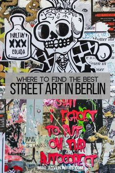 A guide to alternative things to do in Berlin, Germany, and the best areas to find Berlin street art. #berlin #germany #streetart