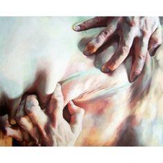 Cara Thayer & Louie Van Patten | #bladebone #bladebone_ || #carathayler #louievanpattern #painting #artist #color #body #love #touch #vscocam #vsco