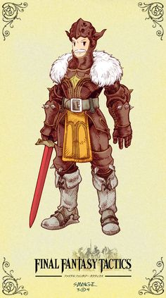 Final Fantasy Tactics Goffard Gaffgarion  C'mon, This is Business. by KajusX.deviantart.com on @deviantART