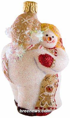 Miniature Snow Dancing (Gingerbread) Patricia Breen