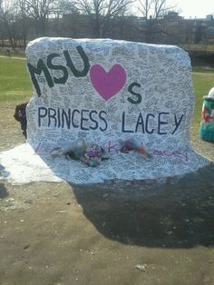 MSU sends their love and support to Lacey and her family.