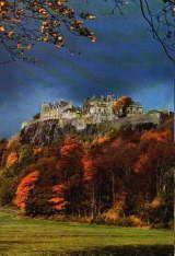 Stirling castle in Autumn, Scotland