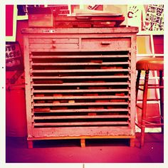 Cool type cabinet.
